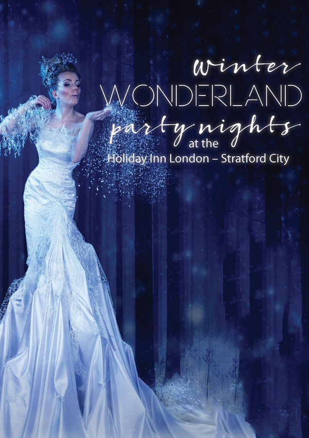 HI London Stratford - Winter Wonderland themed Christmas party nights