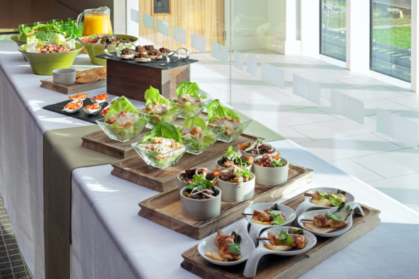 Lunch buffet at the Restaurant 2012