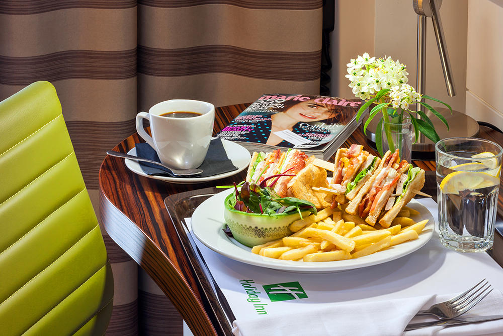 In-room dining service at the Holiday Inn London - Stratford City
